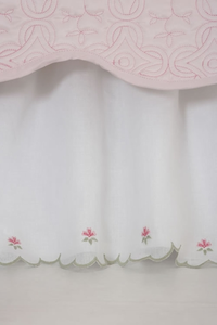 Princess  Floral Twin Bed Skirt