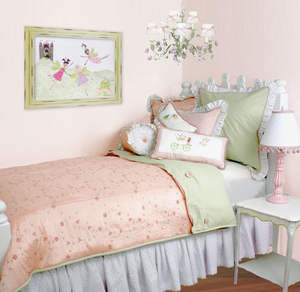 Princess Pink Girls Twin  Duvet