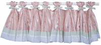 Princess Pink Single Window Valance