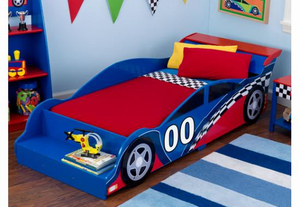 Racecar Kids Toddler Bed by Kid Kraft - on backorder until June