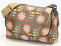 Retro Floral Messenger Diaper Bag by OiOi