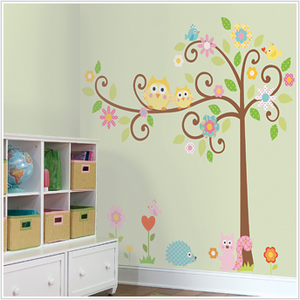 Scroll Tree Mega Pack Wall Decals