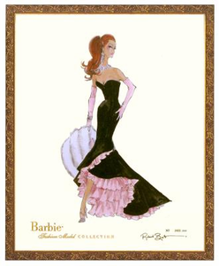 Siren Limited Edition Barbie Print