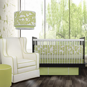 Spring Greens Modern Berries 3 Piece Crib Bedding