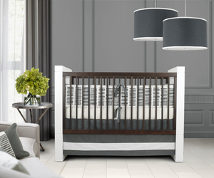 Sticks Modern 3 Piece Crib Bedding Set  by Oilo Studio