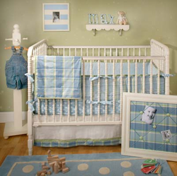Sweet Pea Boys Crib Bedding Set - no longer available