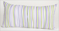 Sweet Potato Lulu Rectangular Striped Pillow
