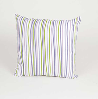 Sweet Potato Lulu Square Striped Pillow