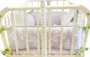 Sweet Violet Cradle Bedding Set