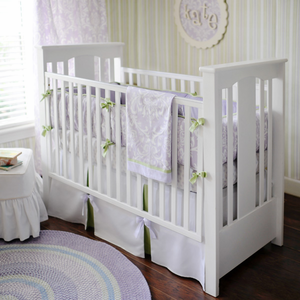 Sweet Violet Girls Crib Bedding Set