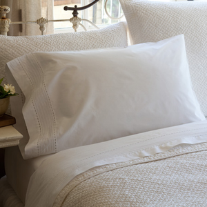 Tailored Pinefore White Sheet Set