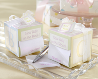 �Take Note! New Baby On the Block!� Sticky Notes