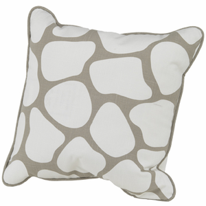 Taupe Cobblestone Nursery Pillow, 16 x 16