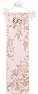 Taupe Lavish Kids Growth Chart