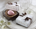 �The Nest Egg� Scented Egg Soap in Nest (Pink or Blue)