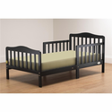 The Orbelle Contemporary Toddler Bed In Black