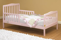 The Orbelle Contemporary Toddler Bed In Pink