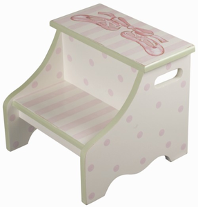 Toe Shoes Kids Steps Stool