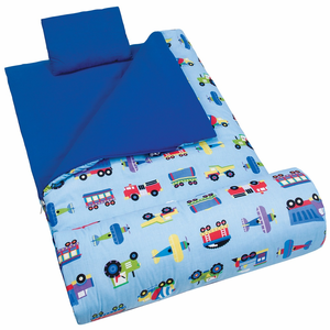 Trains Planes and Trucks Boys Sleeping Bag