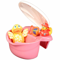 Tub Toy Organizer by Potty Patty� - Pink for Girls