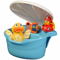 Tub Toy Organizer by Potty Scotty� - Blue for Boys