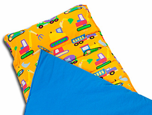 Under Construction Boys Sleeping Bag