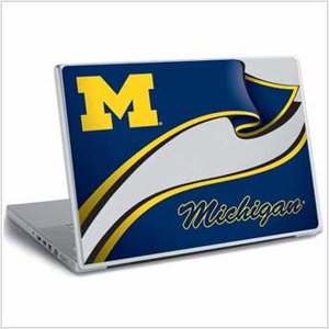 University of Michigan Laptop Skin