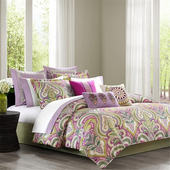 Vineyard Paisley 9 Piece Comforter Bedding Set