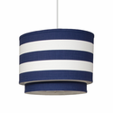 Wheels Stripe Double Cylinder Pendant Lighting