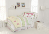 Whistle & Wink Butterfly Garden Twin Quilt