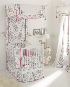 Whistle & Wink China Doll 3 Piece Girls Crib Bedding