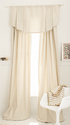 Whistle & Wink Solid Khaki Window Panel