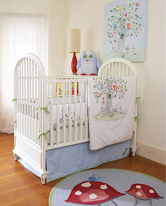 Wishing Tree 3 Piece Crib Bedding Set
