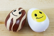 12 Pc Breakfast Themed Easter Eggs