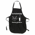 2 Of My Favorite Things - Swine & Wine Apron