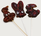 3 Pc Bacon Bunny Lollipops