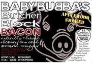 Baby Bubba's Butcher Block Bacon - Apple Cinnamon - 2pk