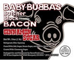 Baby Bubba's Cinnamon Sugar Bacon