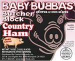 Baby Bubba's Country Ham Center Steaks