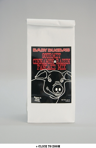 Baby Bubba's Gourmet Cinnamon & Raisin Pancake Mix