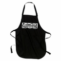 Bacon: Breakfast, Lunch, Dinner Apron - Black