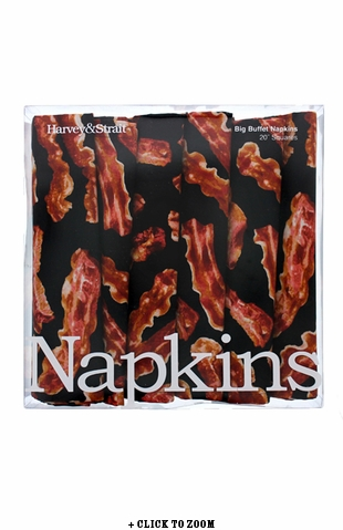 Bacon Buffet Napkins