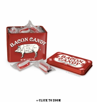 Bacon Flavored Hard Candies