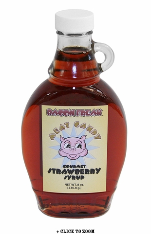 Bacon Freak Gourmet Strawberry Syrup