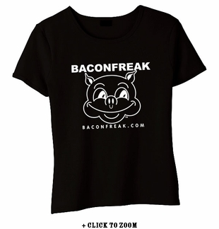 Bacon Freak (Original Pig) Babydoll Shirt