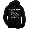 Bacon Freak (Original Pig) Hooded Sweatshirt