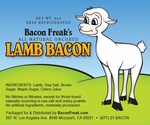 Bacon Freak's All Natural Lamb Bacon