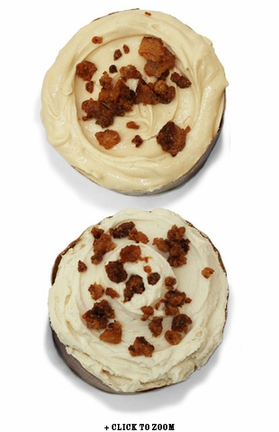 Bacon Freak's Bacon Cupcake 4 Pack