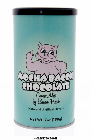 Bacon Freak's Mocha Bacon Chocolate Cocoa Mix