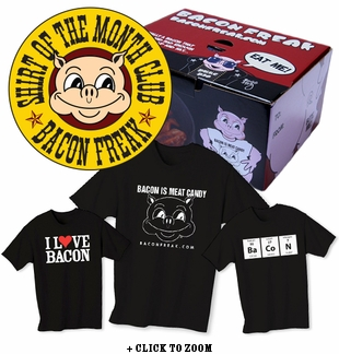 Bacon Freak Shirt Club - 3 Months